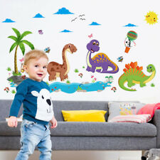 Dinosaur Park Wall Sticker 3D Decal Wallpaper Mural Art Decor Children Room Home