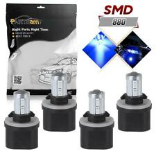 Pack 4 10-5730-SMD Blue LED Fog Driving Light Foglight Lamp 880 890 892 893 899