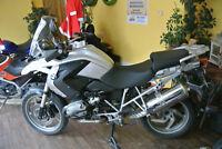 BMW R 1200 GS K25 BAUJAHR 2008 61000KM SCHECKHEFT KOFFER ESA RDC HG