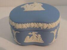 Wedgewood England Jasperware Trinket Box