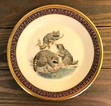 Lenox Collector's Plate 1973 Woodland Wildlife Raccoons Artist Boehm signed