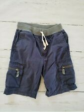 Hanna Andersson Boys Pull On Cargo Shorts Size 130 (8) - Navy