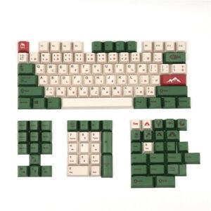 Camping Keycap Set PBT Key Caps for Mechanical Keyboard Cherry MX gh60;gk61;gk64
