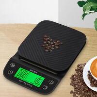 Coffee Digital LCD Electronic Kitchen Cooking Food Weighing Scales Tool 3kg/0.1g