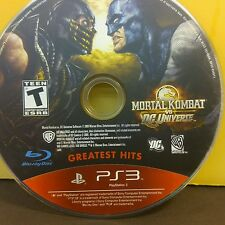 Mortal Kombat vs. DC Universe (PS3) USED AND REFURBISHED (DISC ONLY) #10815