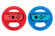 Steering Wheel - Nintendo Switch Joy-Con Twin Pack - Blue/Red
