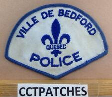 VILLE DE BEDFORD QUEBEC, CANADA POLICE SHOULDER PATCH
