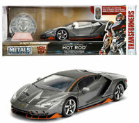 JADA 1:24 Transformers Lamborghini Centenario LP770 HOT ROD Die Cast Model Car