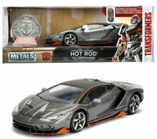JADA 1:24 Transformers 5 Lamborghini Centenario LP770 HOT ROD Die Cast Model Car