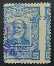 nystamps Costa Rica Stamp Used Misperf Error  O22x320