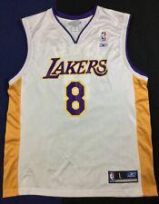 Vintage Los Angeles Lakers Kobe Bryant #8 Basketball NBA Reebok Jersey SizeL