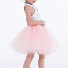 Women 7 Layers Tulle Skirt Party Dress Princess Girls Ballet Tutu Dance Skirt