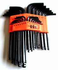 25pc ILLINOIS INDUSTRIAL BALL END ALLEN HEX WRENCH KEY DRIVER SET