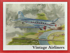 9 VINTAGE AIRLINER NOTE CARDS - 3 ea. of DC-3, PAA China Clipper, Ford Tri-Motor