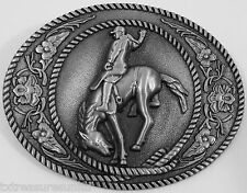 BELT BUCKLES metal western cowboy rodeo accessories BRONCO RIDER buckle NWOT!