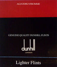 PACKET OF 9 DUNHILL LIGHTER FLINTS (RED) ROLLAGAS NEW
