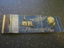 Sherwood Rye Maryland Straight Rye Whiskey Matchbook
