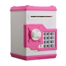 Password Code Piggy Bank Money Saving Box Coin Paper money Saver ATM Toy Gift