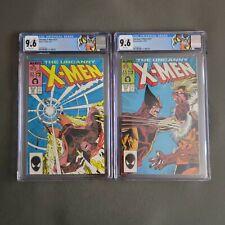 Uncanny X-Men 221 222 CGC 9.6 WP 1st App Mister Sinister Wolverine Sabertooth 💸