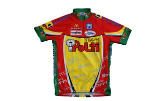 Maillot vélo rétro Santini Polti McDonald's Colpack Fausto Coppi