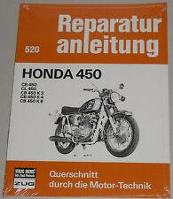 Reparaturanleitung Honda CB 450 / CL 450 / CB 450 K3 / CB 450 K4 / CB 450 K6!