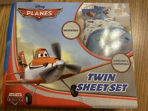 New Disney PLANES Twin Sheet Set