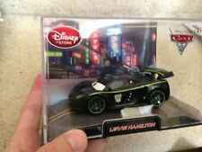 Lewis Hamilton Disney Store Cars 2 Die Cast Car In Collector's Case 1:43 scale