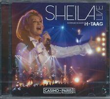 SHEILA Live-au Casino de Paris  2 CD Neuf sous cellophane