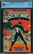 Secret Wars #8 CBCS 9.8 Marvel Super Heroes 1984 Venom! Like CGC! K4 1 cm