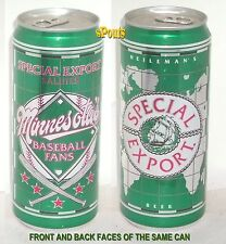 1990 SPECIAL EXPORT SALUTE to MINNESOTA'S BASEBALL FANS HEILEMAN BEER CAN SPORTS