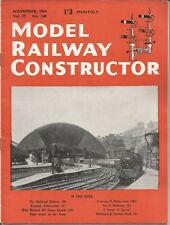 MODEL RAILWAY CONSTRUCTOR MAGAZINE - NOVEMBER 1954
