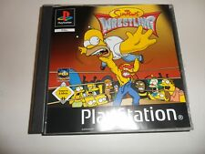 PlayStation 1 PSX ps1 Simpsons Wrestling (3)