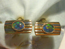 Opal Cufflinks for Men