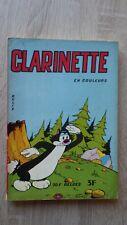 Editions des Remparts CLARINETTE Recueil Album relié No 7 Année 1961 TBE