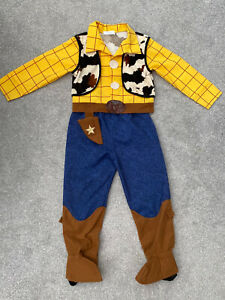 Disney Store Toy Story Woody Costume Fancy Dress Up Outfit Size : 5-6 Years