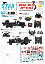 Star Decals 1/35 Vietnam Gun Trucks # 5 # 35-C1198