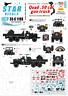Star Decals 1/35 Vietnam Pistolet Camions #5 #35-C1198