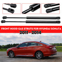 2pcs Front Hood Gas Spring Lift Supports Shocks For Hyundai Sonata 2011-2014 .-