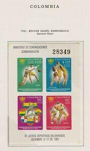 Colombia Souvenir Sheet #C419, MH