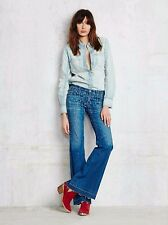 NWOT Free people Modern Geo Printed Flare Jeans by Citizens of humanity  $248.00