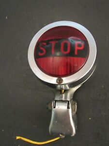 Vintage Accessory Stop Light with Mount