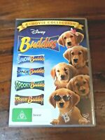 Buddies 4-Movie Collection Snow Space Spooky Treasure Buddies DVD Region 4
