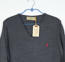 New Marlboro Classics Country by MCS Charle Knit V Neck Sweater Jumper 2XL Wool