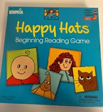 Happy Hats Beginning Reading Game by Briarpatch Educational! Bob Books Ages 4+