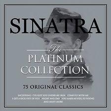 "FRANK SINATRA ""THE PLATINUM COLLECTION"" 75 Original Hits 3 CD BOXSET NEW SEALED"