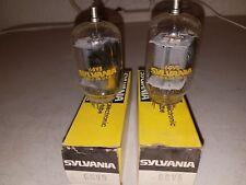 6Gv5 Sylvania Vintage Tube - Nos In Box 2 total