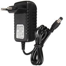 12V 1A / 1000mA AC / DC Adapter Ladegerät Netzteil 2.5mm*5.5mm für Kamera LED