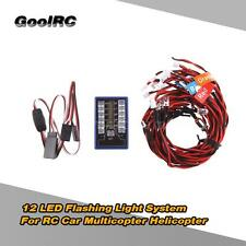 GoolRC Highlight 12 LED Flashing Light System for 1/10 RC Cars G.T.POWER D5O9