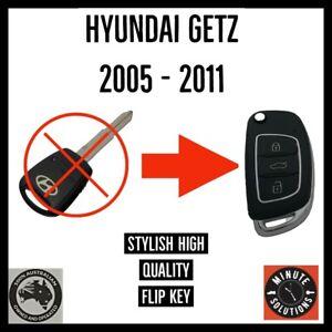 FITS HYUNDAI GETZ REMOTE FLIP KEY FOB 2005 2006 2007 2008 2009 2011