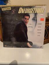Unforgettable - Letterboxed  Laserdisc Ray Liotta Linda Florentino